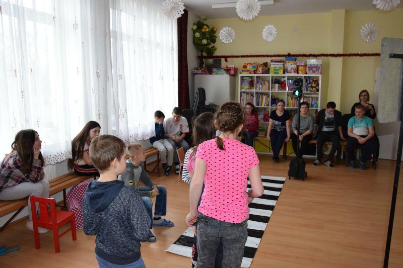 Wizyta w Placówce Opiekuńczo-Wychowawczej w Komarnie